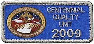 Centennial Quality Unit 2009